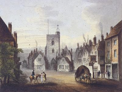 Bow, Poplar, London, 1783--Giclee Print