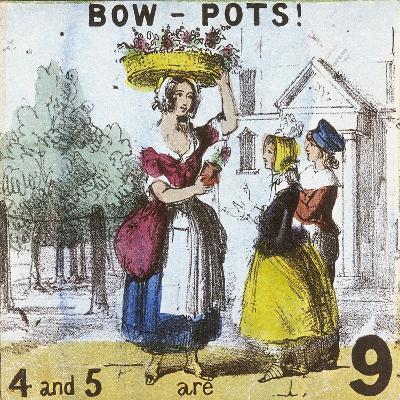 Bow-Pots!, Cries of London, C1840-TH Jones-Giclee Print