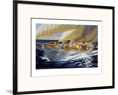 Bow Wave-A^ D^ Houston-Framed Art Print