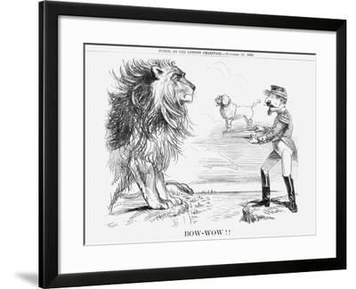 Bow-Wow!!, 1859--Framed Giclee Print