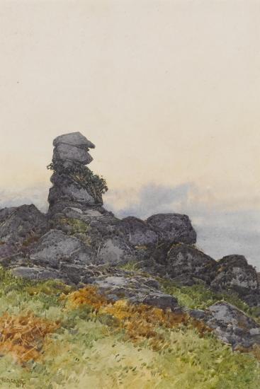 Bowerman?S Nose, Manaton Dartmoor , C.1895-96-Frederick John Widgery-Giclee Print