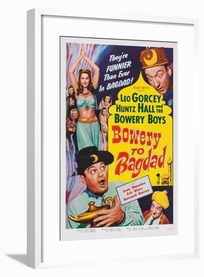 Bowery to Bagdad, 1955--Framed Art Print