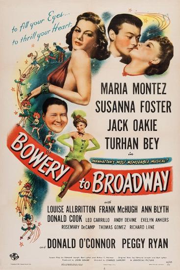 Bowery to Broadway, 1944--Art Print