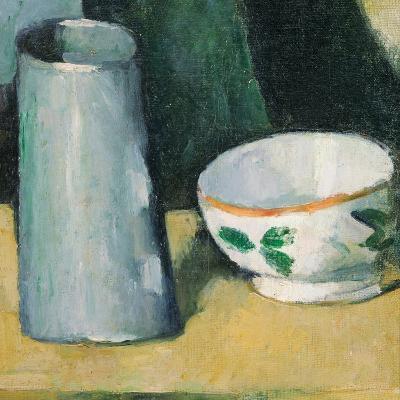 Bowl and Milk-Jug-Paul C?zanne-Giclee Print