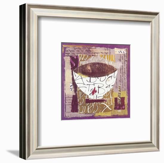 Bowl II-Françoise Unel-Framed Art Print