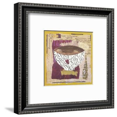 Bowl IV-Françoise Unel-Framed Art Print