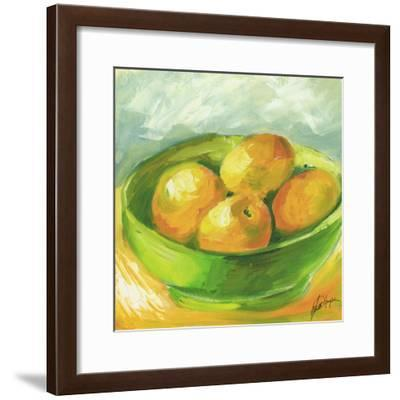 Bowl of Fruit I-Ethan Harper-Framed Art Print