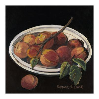 Bowl of Peaches-Suzanne Etienne-Art Print