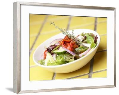 Bowl of Salad--Framed Photographic Print