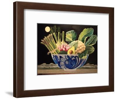 Bowl of Vegetables, 2015-ELEANOR FEIN FEIN-Framed Giclee Print