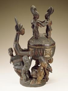 Bowl with Figures - Sculptor to Kings, Olowe of Ise; National Museum of African Art
