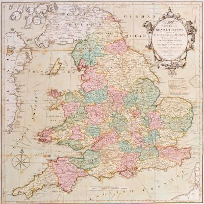 Bowle's Road Directory Through England and Wales, Published by Bowles and Carver, 1796--Giclee Print