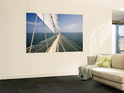 Bowsprit of Star Clipper Cruiseship Star Flyer-Holger Leue-Wall Mural