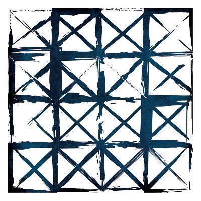 Box Blue Lines-Jace Grey-Art Print