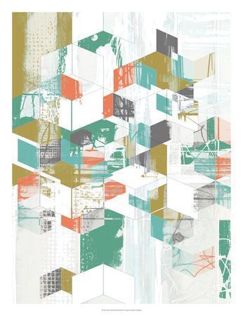 Box Grid II-Jennifer Goldberger-Art Print