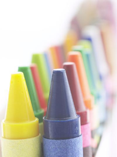 Box of Crayons--Photographic Print