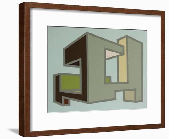 Box Project 2015 (45a)-Eric Carbrey-Framed Giclee Print