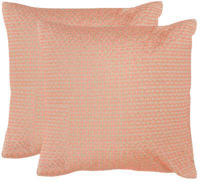 "Box Stitch Pillow Pair - Orange 20""--Home Accessories"