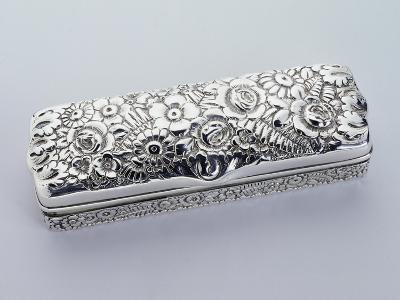 Box, Tiffany Manufacture, 925 Sterling Silver, United States of America, Early 20th Century--Giclee Print