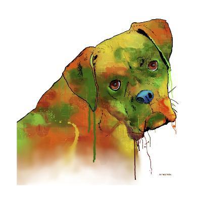 Boxer 2-Marlene Watson-Giclee Print