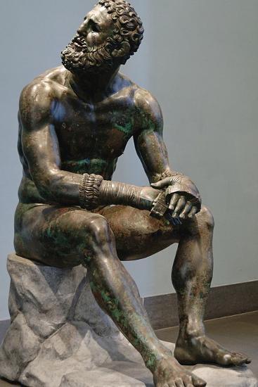 Boxer Attributed to Apollonius--Photographic Print