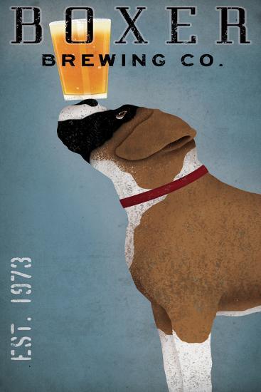 Boxer Brewing Company-Ryan Fowler-Art Print