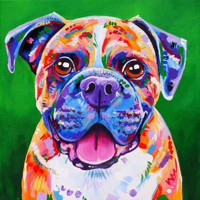 Boxer Dog-Eve Izzett-Framed Art Print