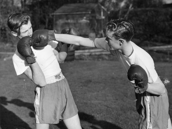 Boxer Twins-Greated-Photographic Print