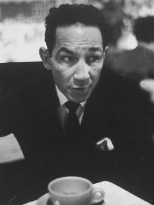 Boxer Willie Pep Giving His Views About the Boxing Monopoly Legislation