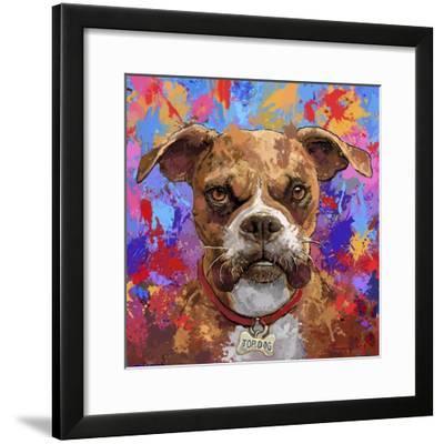 Boxer-Frank Harris-Framed Giclee Print