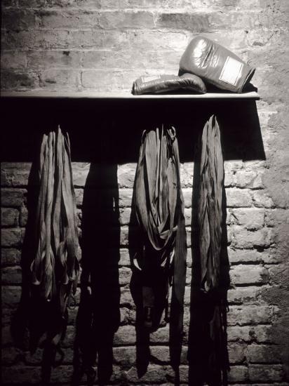 Boxing Equipment, New York, New York, USA--Photographic Print