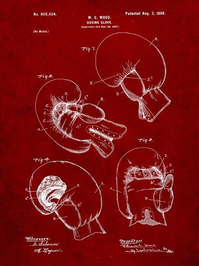 Boxing Glove Patent 1898-Cole Borders-Art Print