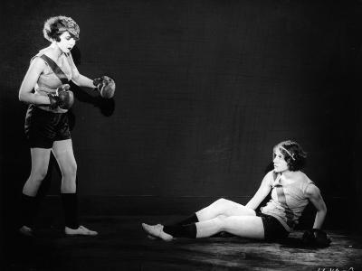 Boxing Women--Photographic Print