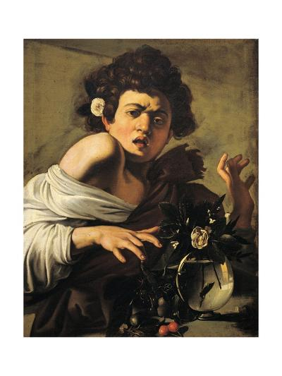 Boy Bitten by a Lizard-Caravaggio-Giclee Print