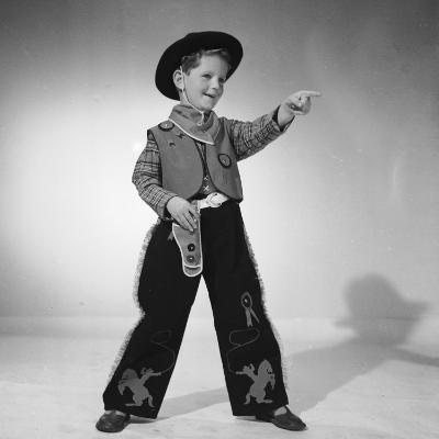 Boy Cowboy-Chaloner Woods-Photographic Print
