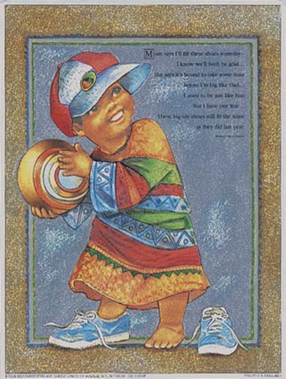 Boy Dress-Up-Lopez-Art Print