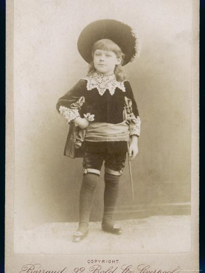 Boy in a Cavalier Costume (A Style--Photographic Print