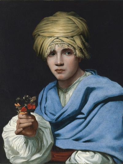 Boy in a Turban Holding a Nosegay-Michiel Sweerts-Giclee Print