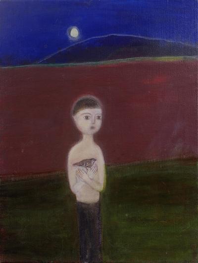Boy in the Moonlight, 2002-Roya Salari-Giclee Print