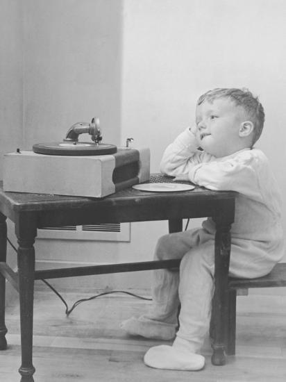 Image result for listening to record player