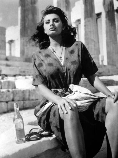 Boy on a Dolphin, Sophia Loren, 1957--Photo