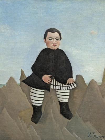 Boy on the Rocks, 1895-97-Henri Rousseau-Giclee Print