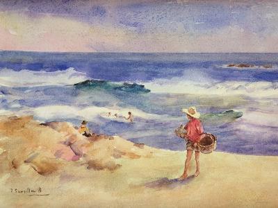 Boy on the Sand-Joaqu?n Sorolla y Bastida-Giclee Print