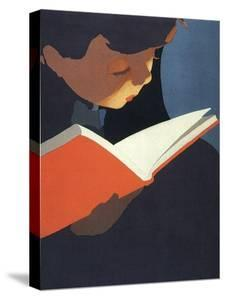 Boy Reading, 1925
