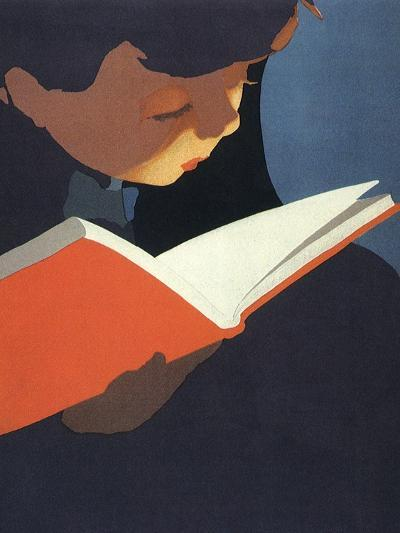 Boy Reading, 1925--Giclee Print