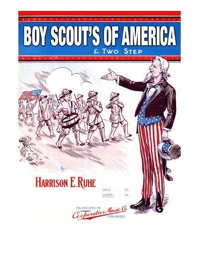 Boy Scout's of America--Art Print