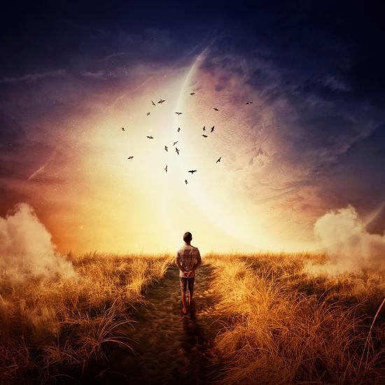 Boy Walking-Bordeianu Andrei-Photographic Print