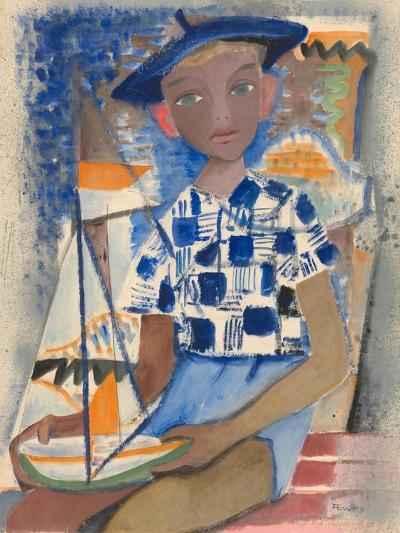 Boy with a Boat-Anneliese Everts-Giclee Print