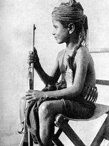 Boy with a Gun, Aden Protectorate, Arabia, 1936