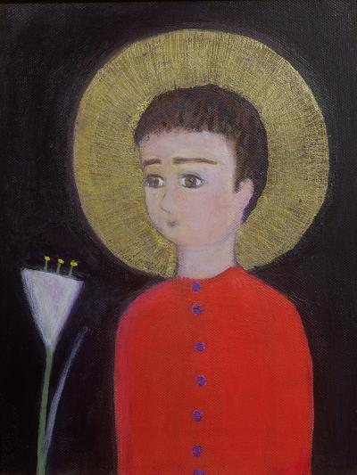 Boy with Lily, 2002-Roya Salari-Giclee Print